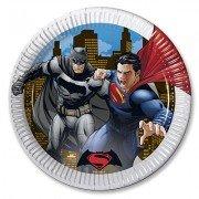 Тарелки большие Бэтмен Vs Супермен