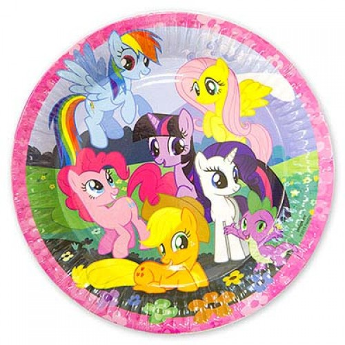 Тарелка с героями мультфильма My Little pony