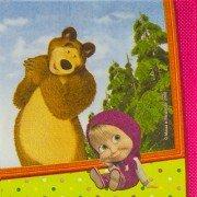 Салфетки Маша и Медведь