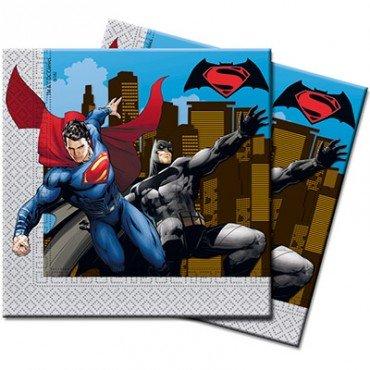 Салфетки Бетмент против Супермена