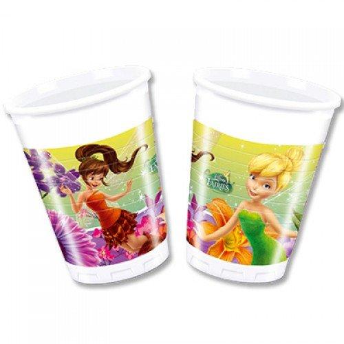 Пластиковые стаканчики с изображением фей