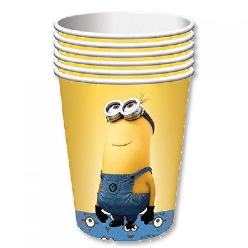Набор стаканов с изображением Миньонов