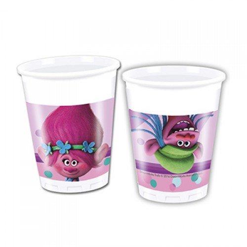 Набор стаканов с изображением Троллей