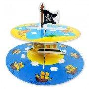 Стойка для кексов 2 ярус Маленький Пират