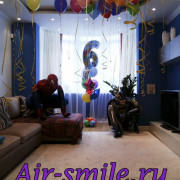Украшение комнаты на день рождения для мальчика