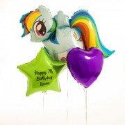 My Little Pony со звездой и сердцем