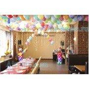 Украшение шарами ресторана на детский праздник