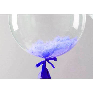 Баблс с синими перьями
