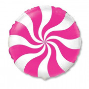 "Шар 18"" конфета розовая"