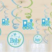 Спирали Welcome Baby Паровозик