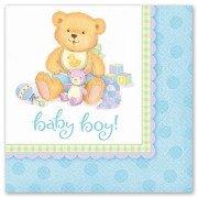 Салфетки медвежонок мальчик для новорожденных