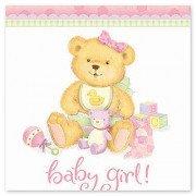 Скатерть медвежонок девочка новорожденная
