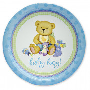 Тарелки медвежонок мальчик для новорожденных