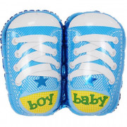 Шар Фигура, Ботиночки для мальчика, Голубой
