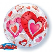 """Шар Bubble """"Волшебные сердца"""""""