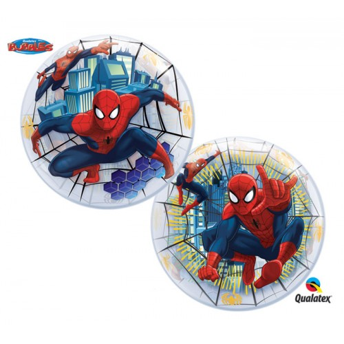 Шар баблс с изображением Человека Паука