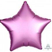 Фольгированная звезда Фламинго Сатин Люкс Hx