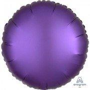 Фольгированный шар Фиолетовый Сатин Люкс Hx