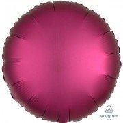 Фольгированный шар Гранатовый Сатин Люкс Hx