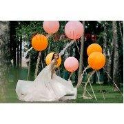 Фото сессия с большими шарами