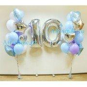 Комплект композиций с цифрами на день рождения