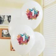 Воздушные шарики на первое сентября