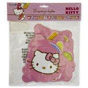Гирлянда-буквы с Днем Рожд, Hello Kitty