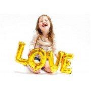"""Фольгированный шар надпись """"Love"""""""