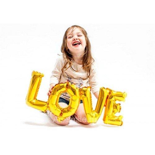 Шарик фольгированный love