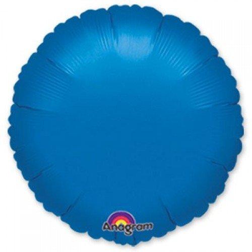 Фольгированный синего цвета круг