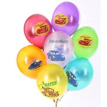 Гелиевые шарики из мультфильма Тачки