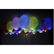 """Светящиеся шары """"С днем рождения"""""""