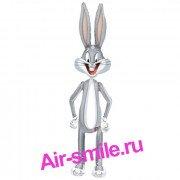 Фольгированный кролик Багз Бани