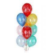 Гелиевые шары с надписью с днем рождения