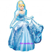 Ходячий шар принцесса золушка