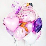 """Облако шаров """"Фламинго"""""""