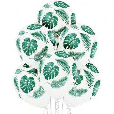 Гелиевые шары Листья папоротника