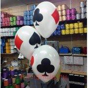 Гелиевые шары карты игральные