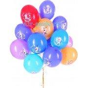 Гелиевые шары Анна, Эльза и Олаф