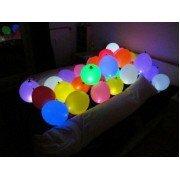 Светящиеся шары на пол с воздухом