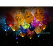 Светящиеся шары со звездами