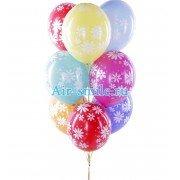 Воздушные шары ромашки любимой маме