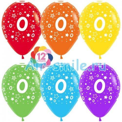 Гелиевые шары с цифрой 0