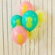 Разноцветные шары Ананас