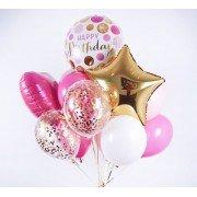 Фонтан с конфетти на день рождения