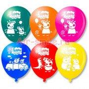 Воздушные шары свинка пеппа