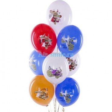 Воздушные шары с черепашками нинздя для детского праздника