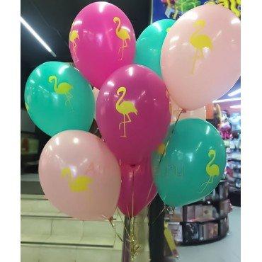 Шары фламинго для девочек