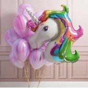Сиреневые шарики агаты на день рождение девочке