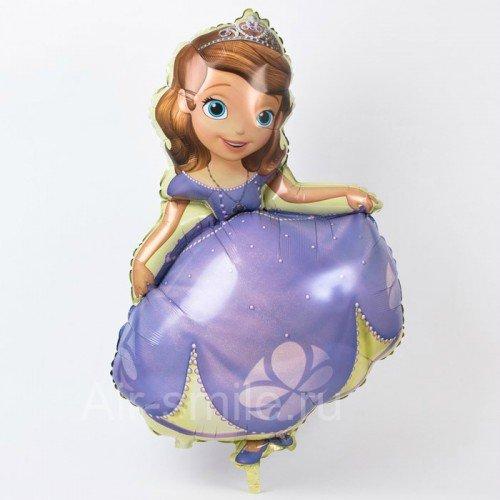 Фольгированный шарик принцесса София